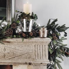 Star Etched Footed Hurricane | The White Company