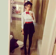 My Mary Poppins Halloween Costume