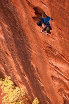 Kolob Canyon in Zion NP at the Namaste Wall. Great climbing here. Rock Climbing Training, Sport Climbing, Ice Climbing, Mountain Climbing, Climbing Holds, Trekking, Scary Places, Kayak, Mountaineering