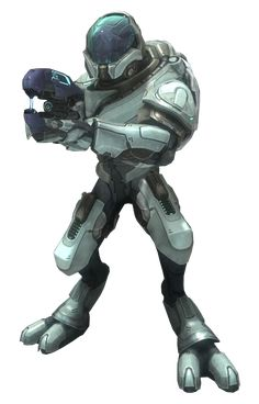 Halo Reach Elite Ranger - probably my favorite class of Elite out of all the games.