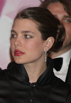 The Rose Ball is one of the major charity events in Monaco created in 1954 it benefits the Princess Grace Foundation Charlotte Casiraghi arrives for...