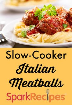 These aren't your mama's meatballs--they're better! Lean but packed with flavor, they cook all day while you're away.  via @SparkPeople