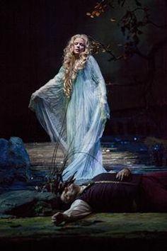 Renee Fleming as Rusalka at the Metropolitan Opera - Berkshire Fine Arts. (I might be seeing this at the MN Opera this weekend! Divas, Ballet, Renee Fleming, Rusalka, Amadeus Mozart, Mode Costume, Metropolitan Opera, Opera Singers, Phantom Of The Opera