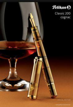 Pelikan Tradition M200 Cognac Fountain Pen | $299