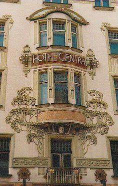 Art Nouveau •~• Hotel Central