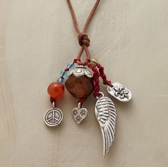 TRANSITIONS NECKLACE $138  (I can make this, right?!)