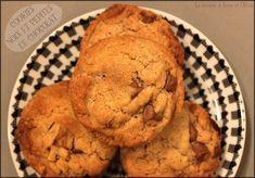 """""""Levain Bakery"""" chocolate chip walnut cookies ~ cookies aux noix et pépites de chocolat (avec ou sans Cook'in de Guy Demarle) - La cuisine d'Anna et Olivia"""