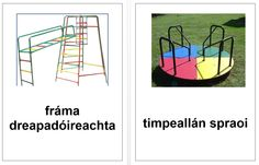 Playground vocab