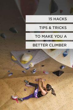 15 Clever Rock Climbing Hacks, Tips, Tricks, and Proper Etiquette - 15 Indoor Rock Climbing Tips and Hacks to Make You a Better Climber // Local Adventurer - Rock Climbing Training, Rock Climbing Workout, Rock Climbing Quotes, Climbing Harness, Indoor Bouldering, Bouldering Wall, Climbing Outfits, Climbing Girl, Rock Climbing