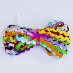 16 Yards of Jumbo Ric Rac 1/2 inch 8 Colors by BeautifulAdditions, $6.00