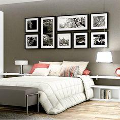 #mulpix Nova ideia para a cabeceira da minha cama!!! Amaria  #vaidadesdearquiteta  #instadecor  #inspiracao  #instahome  #instagram  #ideias  #fino  #decoracaodeinteriores  #decorecomestilo  #decorlovers  #amei  #amazing  #arquiteta  #ambientação  #quadros  #composicao  #quarto  #bedroom  #blog  #coisalindamaravilhosa  #dica  #decor  #demais  #decorando  #feminino  #home  #homeideas