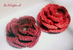 Royal rose - free crochet pattern