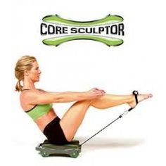 Máquina de exercícios Core Sculptor - A Máquina de Exercícios Core Sculptor é uma máquina que lhe permiterealizar 4 tipos de exercícios básicos e 4 outros intermediários que ajudam ...