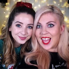 Sprinkle of Glitter (Mine and @zoella's traditional (and crazy...)