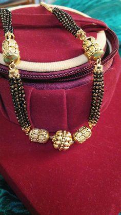 How Sell Gold Jewelry 24k Gold Jewelry, Gold Jewellery Design, Beaded Jewelry, Gold Beads, Jewelery, Gold Necklaces, Mangalsutra Bracelet, Diamond Mangalsutra, Gold Mangalsutra Designs