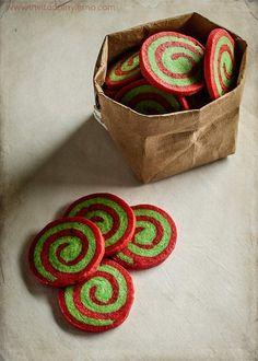 Galletas de Navidad en espiral | Recetas con fotos El invitado de invierno