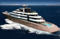 Wonderful project for Oceanco, designed by Nuvolari Lenard #megayacht #luxury