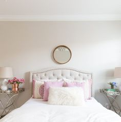Sharing our guest room reveal today. I'm also sharing my best tips for creating a luxurious retreat. Small Bedroom Decor, Home Office Decor, Guest Bedrooms, Small Guest Rooms, Rooms Reveal, A Thoughtful Place, Bedroom Wall Colors, Home Decor, Room