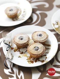Fruit Mince Pies with Spiced Hazelnut Pastry From Christmas Miniatures - Available NOW from newsagents, supermarkets & online at www.magshop.com.a... Photographer: Gorta Yuuki