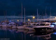 Port de Royan la nuit | Charente-Maritime Tourisme #charentemaritime | #night | #Royan