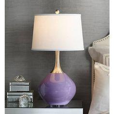 Purple Haze Spencer Table Lamp