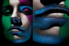makeup and beauty photography by daniela glunz