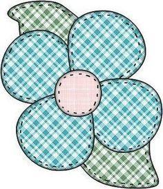 DANI PATCHWORK: Moldes de Flores                                                                                                                                                                                 Mais