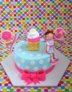 Girl's birthday cake idea