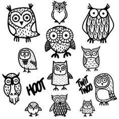 New owl clip art🌲