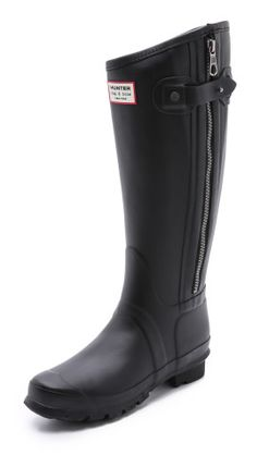 Want a pair of these so bad for those rainy and snowy days in 7springs and soon to be Morgantown. Hunter Boots Rag & Bone X Hunter Tall Boots | SHOPBOP