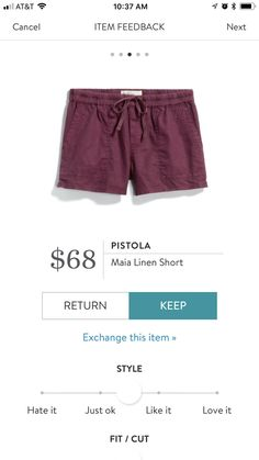 Dear stylist Love these shorts but this seems pricey. Are they high quality and easy care? Emily