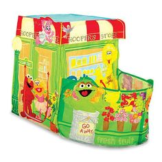 Twist N' Fold technology to twist, fold and store ,Sesame Street Play Tent ** This is an Amazon Affiliate link. You can get more details by clicking on the image.