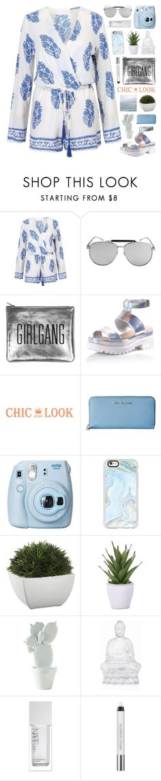 """""""CHIC LOOK CLOSET"""" by novalikarida ❤ liked on Polyvore featuring Glamorous, MICHAEL Michael Kors, Fujifilm, Casetify, Crate and Barrel, Lux-Art Silks, Lalique, NARS Cosmetics, Urban Decay and chiclookcloset"""