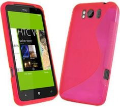 HTC Titan S-Line Gel Case - Hot Pink