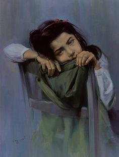Современная иранская живопись.Мортеза Кэтузиэн -  современный  иранский художник - самоучка, 1943 г. рождения.