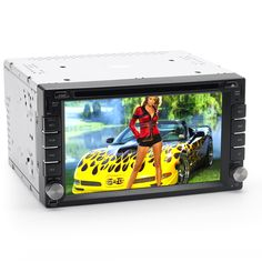 2 DIN 6.2 Inch Car DVD Player 'Rogue' - Windows CE 6.0, MHL Input, Support DA (Display App)