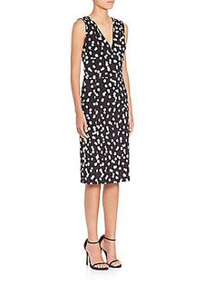 Altuzarra Genivive Polka Dot Dress