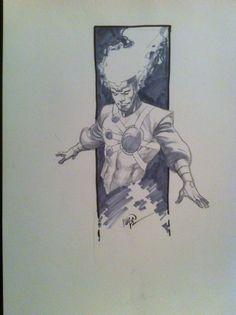 Firestorm by Ivan Reis, in MikeGonzalez's Misc DC Commission/Sketches/Prints Comic Art Gallery Room