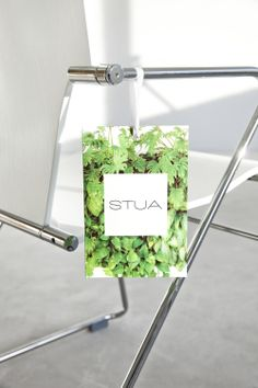 """We love small surprises! Now with every STUA's design you will find, not only the guarantee, but also the new """"Good Design Makes You Happy"""" catalogue in this green envelope. Irresistible!"""