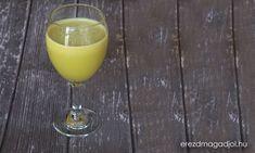 Tisztító és finom – zeller juice Zeller, Healthy Drinks, White Wine, Smoothies, Alcoholic Drinks, Juice, Glass, Diet, Smoothie