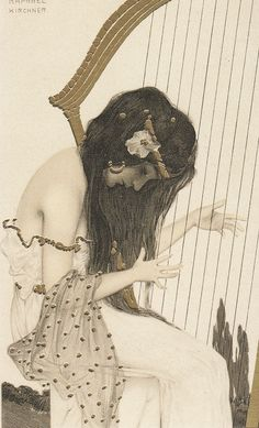 Illustration by Raphael Kirchner.
