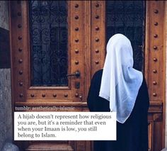 I like this. I hate when people say wear a hijab to stop people from judging you by your looks. But when you do wear a hijab people think you're too religious and unapproachable.