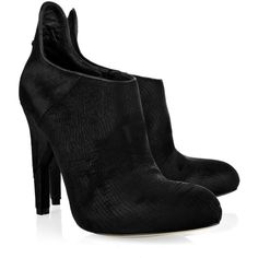 Alexander Wang Frida leather ankle boots (€415) ❤ liked on Polyvore featuring shoes, boots, ankle booties, heels, zapatos, ankle boots, black high heel boots, high heel bootie, black leather boots and black heeled boots
