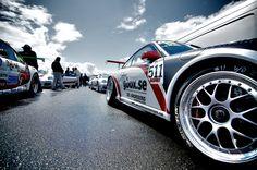 24 H Rennen Nürburgring, Porsche Fahrerlager © MICHAEL-BERGMANN