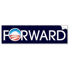Obama Forward Logo Bumper Stickers