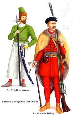 1598 Artillero e infante transivanos