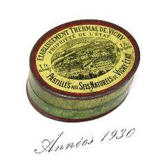 Ancienne et rare boite en fer vichy pastilles vichy etat ebay boites anci - Vieilles boites en fer ...
