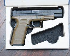 Book Safe for Full-Size Handguns - Made to Order - Hidden Book Gun Case w/ Magazine cutout for Pistol Holster