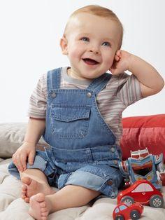 +20 ideas para vestir a tu bebé este verano 2016 #moda #ropa #bebe #niño #niña…
