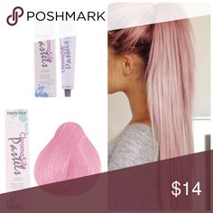 Pravana ChromoSilk Vivid Pretty in pink Pastel* ChromaSilk VIVIDS are the most vibrant, long-lasting colors. These Semi-permanent colors and are applied directly to clean, dry, pre-lightened hair and is not mixed with any developer. Want to bundle more Pravana vivid tubes? I have a wide range of inventory in stock. Vivids Colors* Red Violet Blue Green Pink Magenta Wild Orchid Yellow Neon Colors* Neon Pink Neon Orange Neon Yellow Neon Blue Neon Green Pastel Colors* Luscious Lavender Blissful…